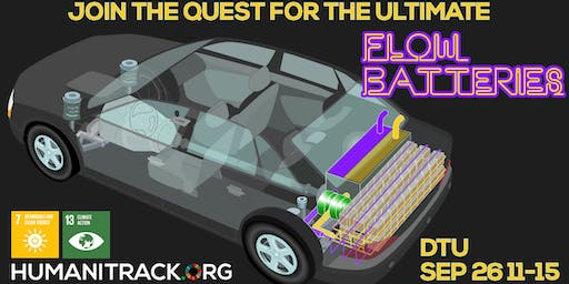 """The quest for the ultimate """"Flow Batteries"""""""