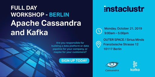 Full Day Apache Cassandra and Kafka Workshop - Berlin