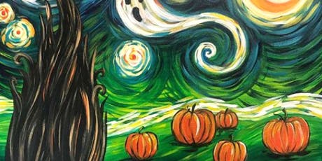 'Starry Night Pumpkins' Sip & Paint Workshop tickets