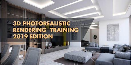 3D ARCHITECTURAL VISUALIZATION WORKSHOP, 2019 tickets
