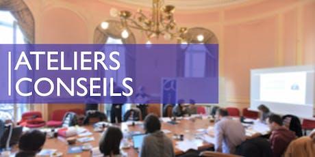 Atelier-Conseil -  05 &06 décembre à Bruxelles billets