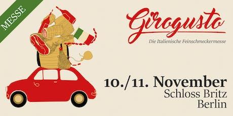 Girogusto Berlin - Die italienische Feinschmeckermesse Tickets