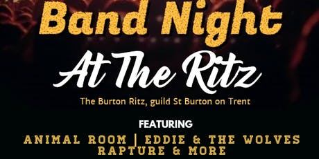 Band Night at The Ritz tickets