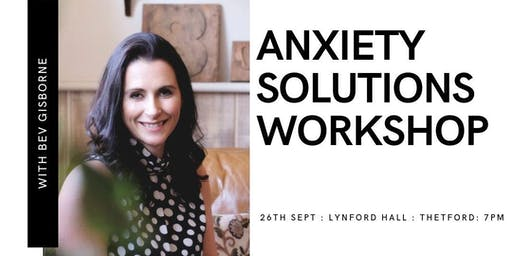 Anxiety Busting Workshop