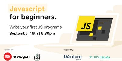 Free Le Wagon Workshop - Javascript for Beginners