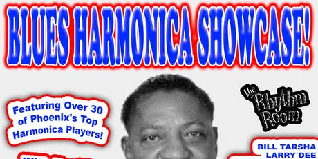 BLUES HARMONICA SHOWCASE! [Early Show] tickets