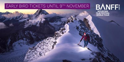 Banff Mountain Film Festival - Stockport - 31 January 2020