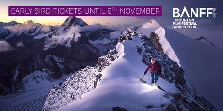 Banff Mountain Film Festival - Stockport - 31 January 2020 tickets