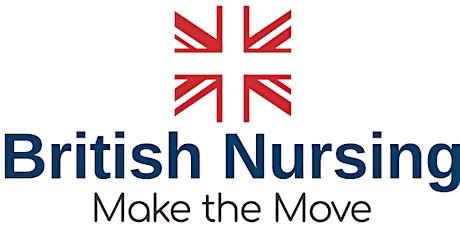 British Nursing Open Day  – Brisbane, June 2020 tickets