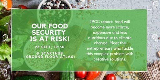 Our food security is at risk!
