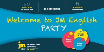 Welcome to JM English PARTY - Catania