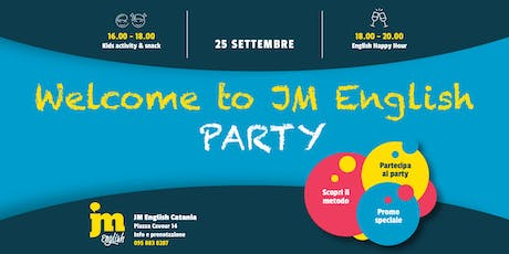 Welcome to JM English PARTY - Catania biglietti