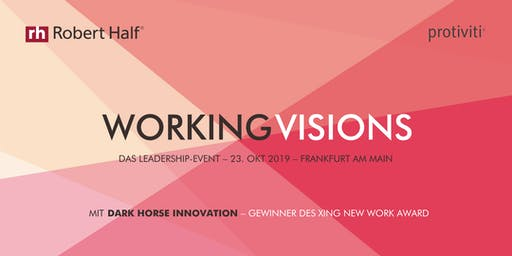 Working Visions Leadership-Event in Frankfurt