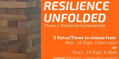 Resilience Unfolded Workshop