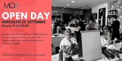 Open Day Scuola per Parrucchieri MOA