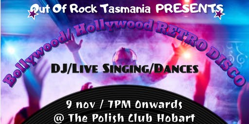 Bollywood/Hollywood Retro Disco Dance Night