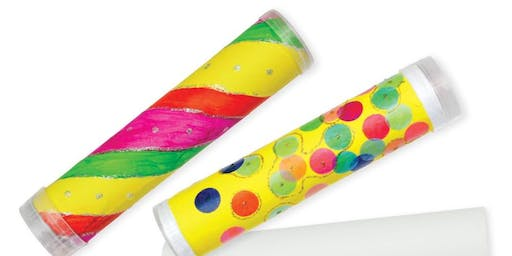 Kaleidoscopes Workshop (Ages 8+)