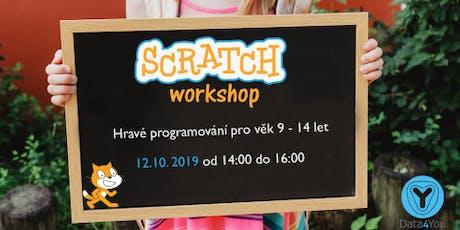 Hravé programování ve Scratchi (pro věk 9-14 let) tickets