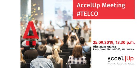 AccelUp meeting #telco tickets