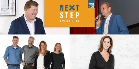 NEXT STEP event 2019 Bedrijfsoverdracht tickets