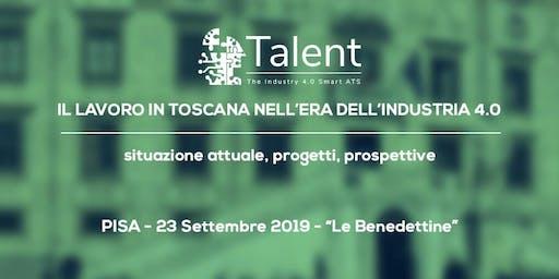 IL LAVORO IN TOSCANA NELL' ERA DELL' INDUSTRIA 4.0