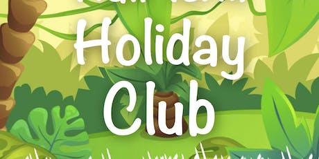 October Half Term Holiday Club.  10am-12.00 tickets