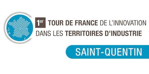 Clôture du Tour de France de l'Innovation - Saint Quentin