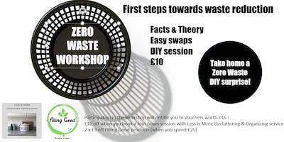 Zero waste workshop : first steps towards waste reduction