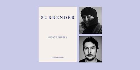 Surrender: Joanna Pocock in Conversation with Dan Richards  tickets