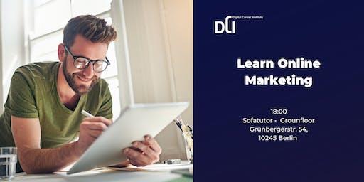 Berlin: Learn Online Marketing