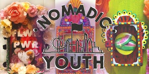 Nomadic Youth Shadow Box Shrine Workshop