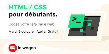 Atelier gratuit: Codez votre première page web ! tickets