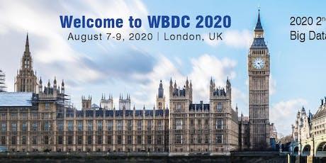 2020 2nd International Workshop on Big Data and Computing(WBDC 2020) tickets