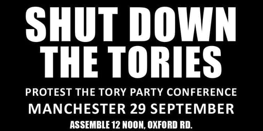 Sheffield/Chesterfield coach to National Demo at Tory Conference