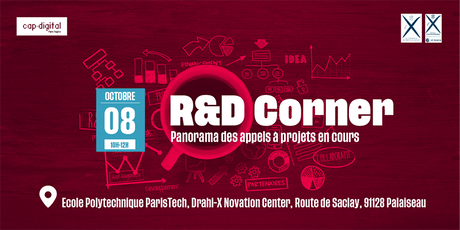 R&D CORNER - Octobre 2019 tickets