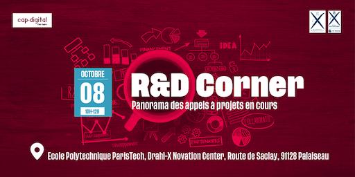 R&D CORNER - Octobre 2019