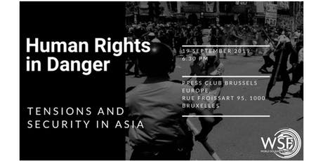 Human Rights in Danger – Tensions and Security in Asia tickets