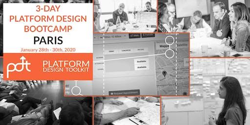 The Platform Design Toolkit 3-Day Bootcamp - Paris:  28th - 30th January