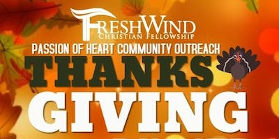 Passion of Heart Thanksgiving Community Outreach Luncheon