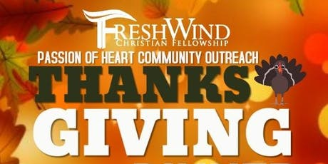 Passion of Heart Thanksgiving Community Outreach Luncheon tickets
