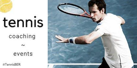 Tennis Coaching : Friday's @ TiB, Kreuzberg (indoor) tickets