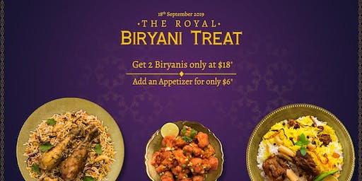 The Royal Biryani Treat
