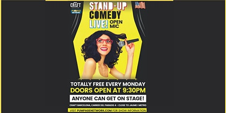 Stand-Up Comedy Live! Open Mic tickets