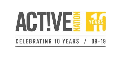 Active Nation Birthday - Free Activities