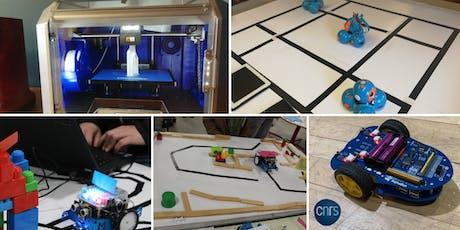 Portes ouvertes : venez découvrir nos ateliers de robotique pour les enfants à Sceaux billets