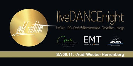 liveDANCEnight  - die 6. liveDANCEnight im Autohaus Weeber in Herrenberg Tickets