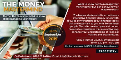 THE MONEY MASTERMIND tickets