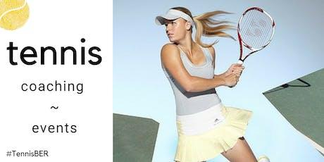 Tennis Coaching : Saturday's @ TiB, Kreuzberg (indoor carpet) tickets