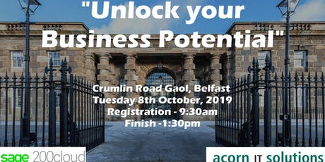 Unlock your Business Potential - Powered by Sage & Acorn IT Solutions tickets
