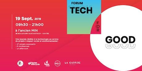 Forum Tech for Good billets